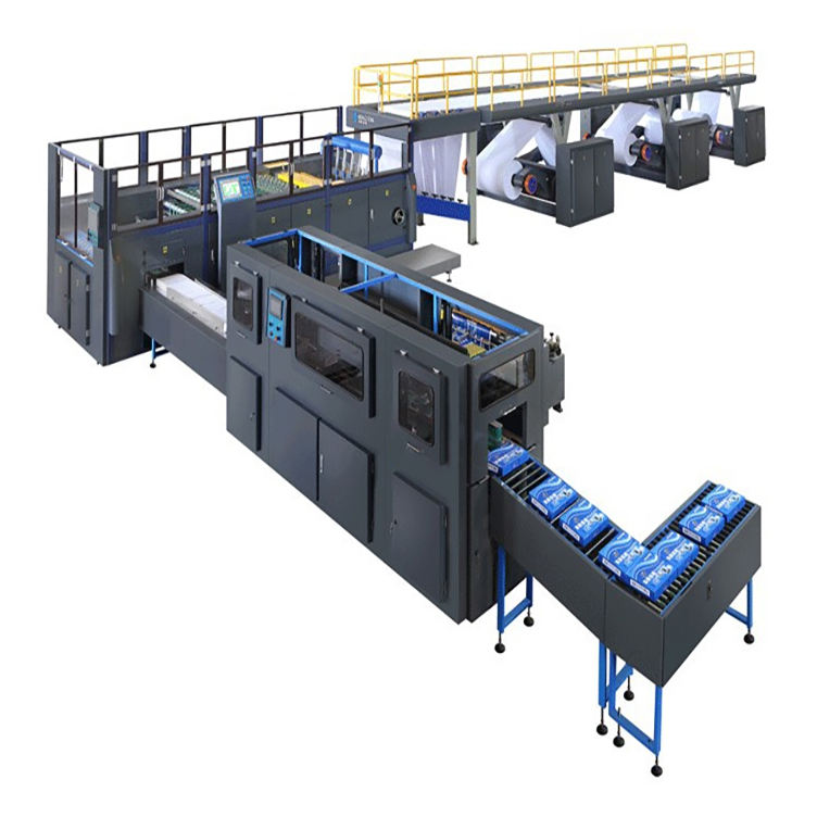 Fully Automatic A4 Paper Production Line A4 Paper Cutting & Packaging Machine