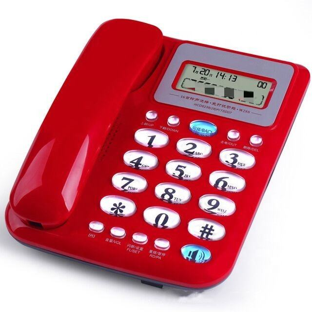 Office Home Cheap Landline Hotel Guest Room Telephone