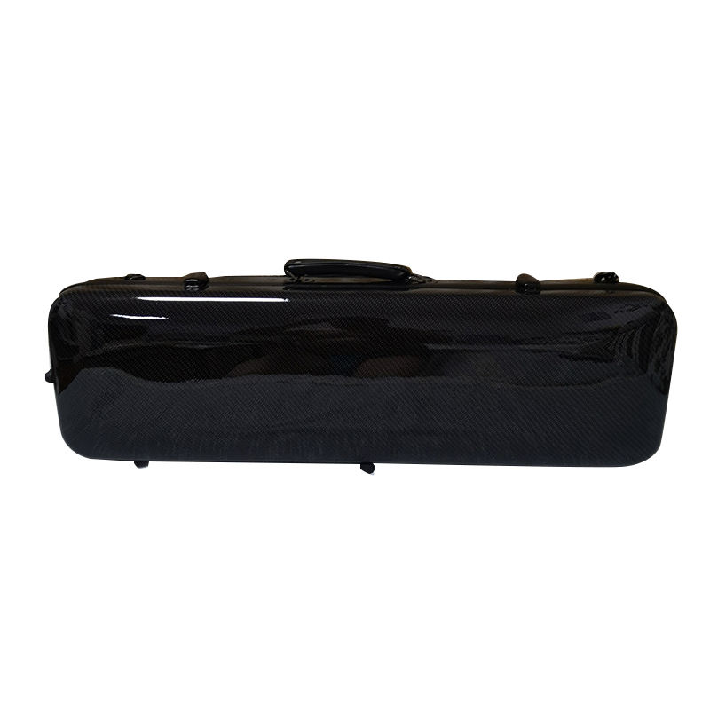 Newest violin case carbon fiber with music sheet bag waterproof violin hard case