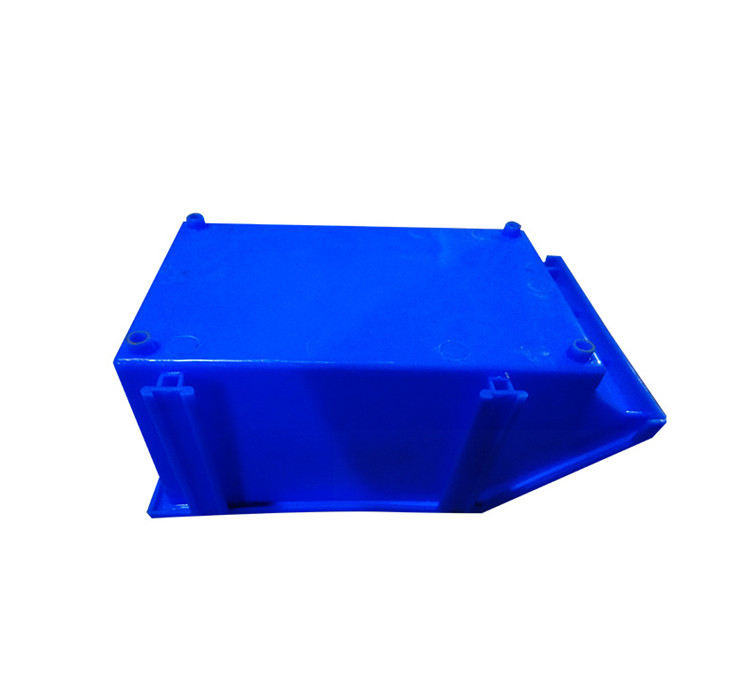 Foldable boxes large salt bin outdoor industrial warehouse plastic storage bins