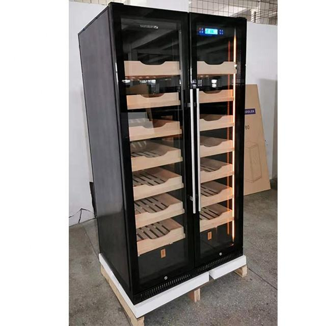 New Style 5000 Count Big Compressor Cigar Cabinets Humidor Large for Showroom and Cigar Shop