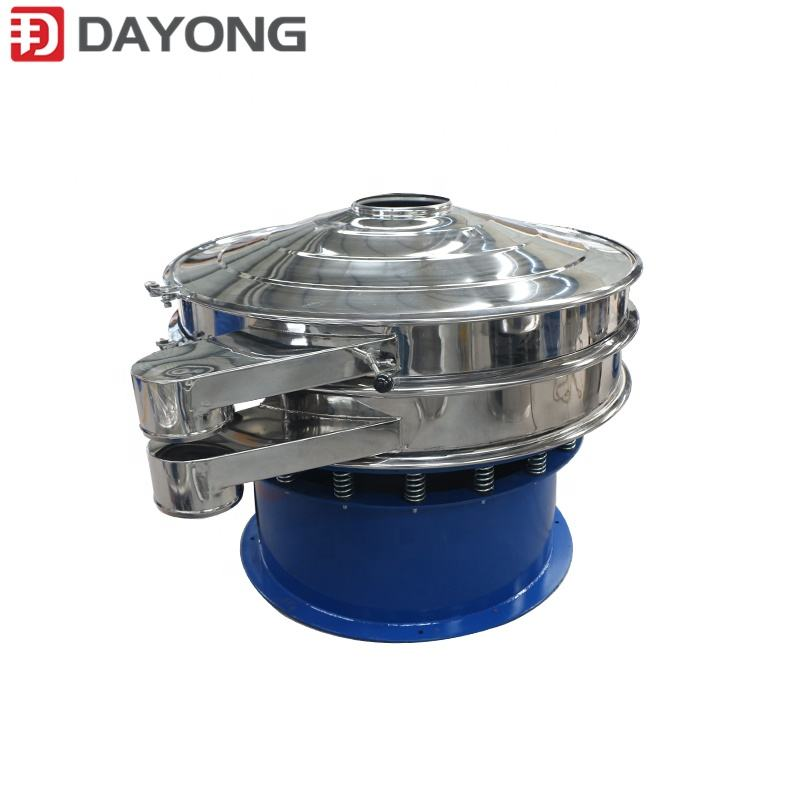 800mm Diameter Powder Particle Liquid Sieving Rotary Vibrating Screen