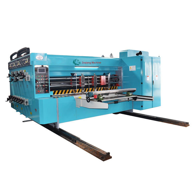 Fully automatic carton 5 colour printing die cutting machine