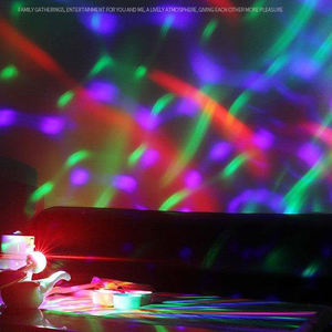 Tahap DJ RGB Strobo Magic Ball Mini Disco Light Usb Mobil Suasana Lampu Dalam Ambient Cahaya Bintang LED