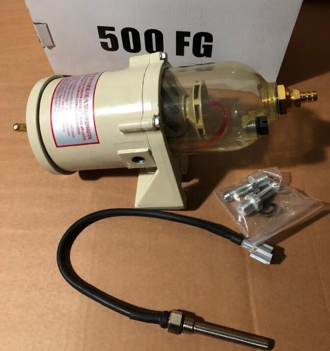 Diesel fuel filter/water separator 500FG 500FH with element 2010PM