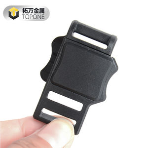 16MM New Fast Detachable Safety Helmet Auto-Absorbed Magnetic Buckle for Backpack