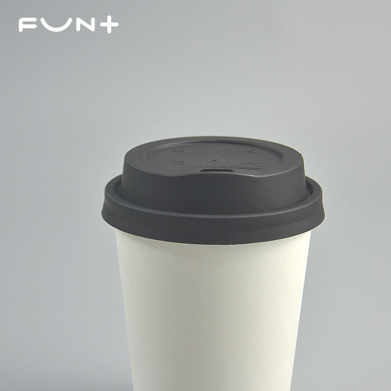 Paper Cups Factory Sales 260ml 8OZ Single Wallpaper Cup Disposable White Paper Coffee Cup Customizable Printed Logo