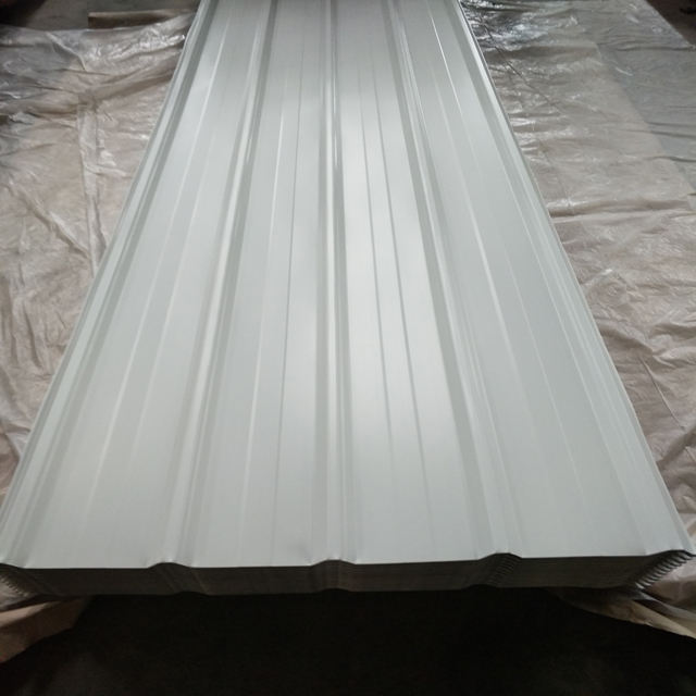 Prepainted corrugated galvanized steel Sheet / galvalume sheet metal / colored aluzinc roofing sheet price per sheet