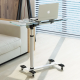 Modern glass laptop desk easy to move in home/office