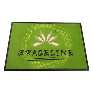 Flooring entrance carpet nylon logo mat custom printed rubber door mat for Amazon wholesale