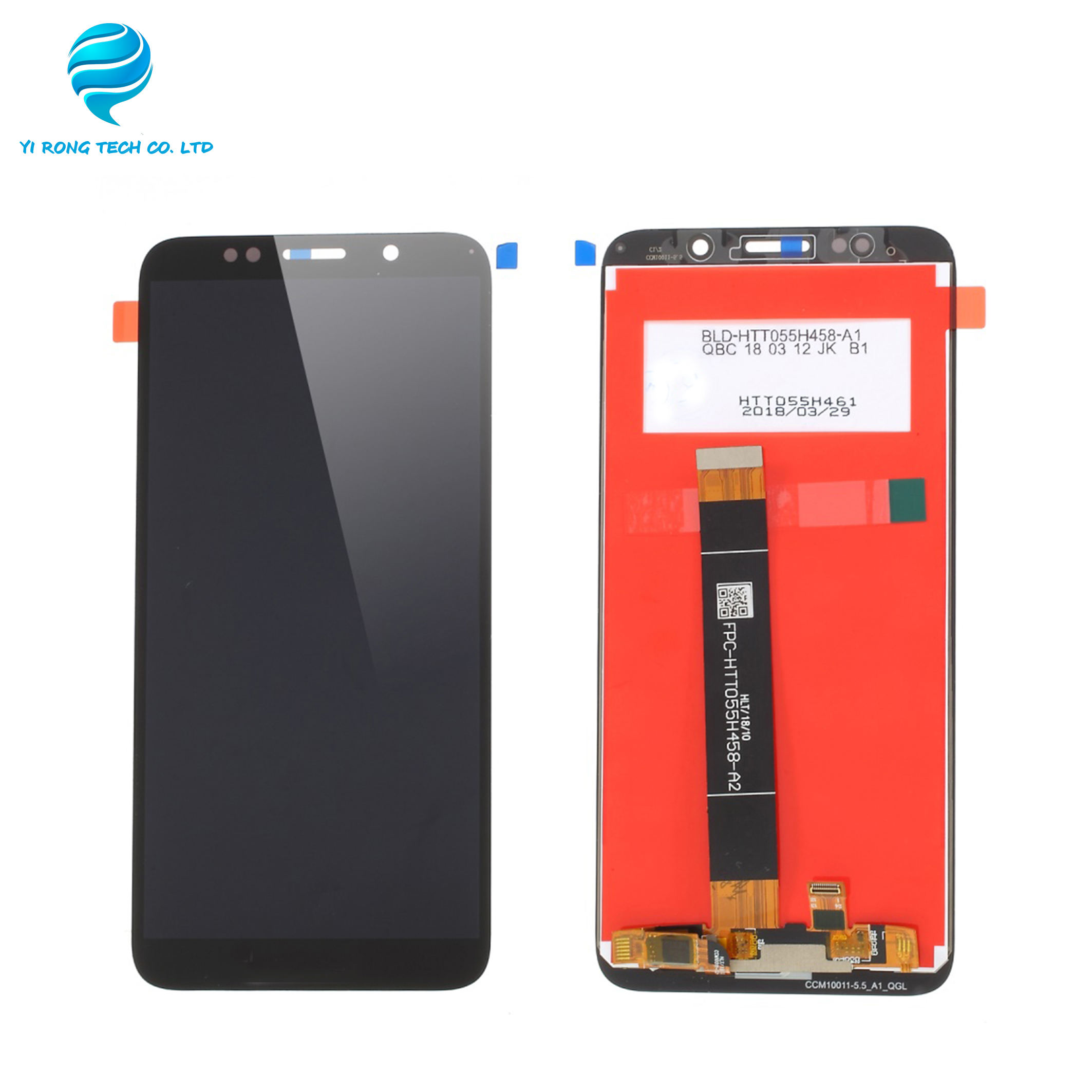 Voor Huawei Y5 2018 Lcd <span class=keywords><strong>Digitizer</strong></span> Y5 2018 Pantalla