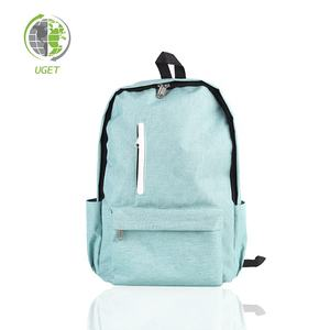 Free Sample 3 Compartment Computer Notebook Hippie Laptop Backpack Bag/Bag Backpack
