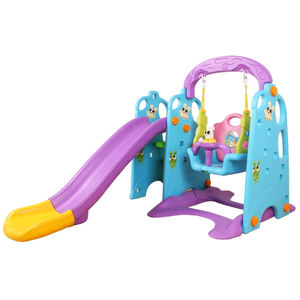 Multifunctionele 2-8 Jaar Oude Indoor Kids Air Slide Kids Speeltuin Schommel En Glijbaan Set