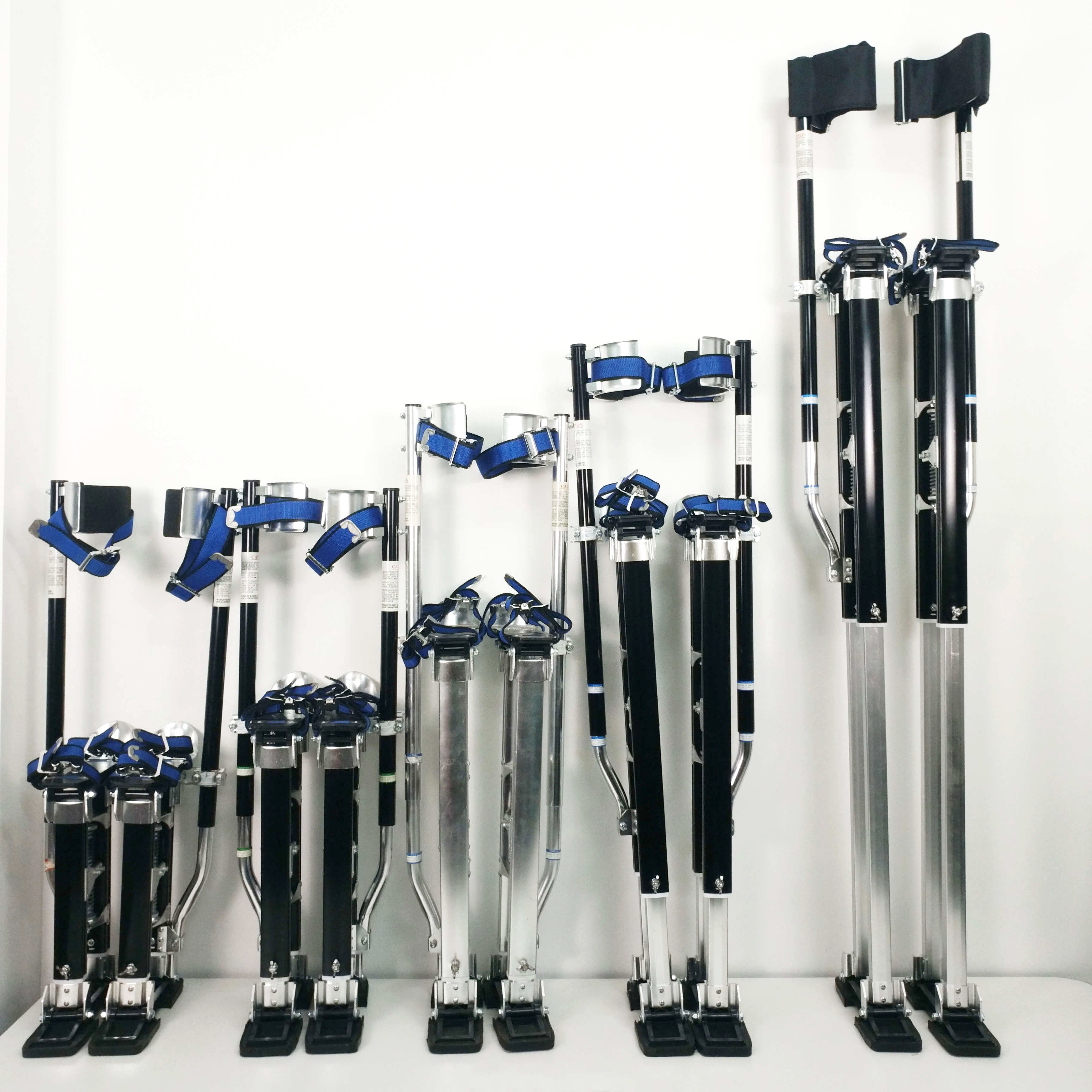 "24""-40"" Aluminum Adjustable Tool Drywall Stilts for Taping Painting Painter decoration"