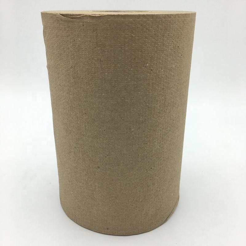 OEM tissue recycled kraft hand towel paper