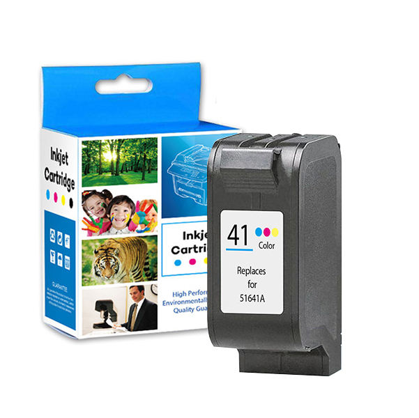 GS Remanufactured ink cartridge compatible for hp 41 51641A