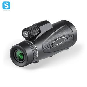 Wholesale 20X50mm Outdoor waterproof telescopes with Tripod for Travel Concert monocular telescope for Mobile Phones