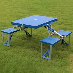 2020 new high quality outdoor table plastic folding table picnic table for garden