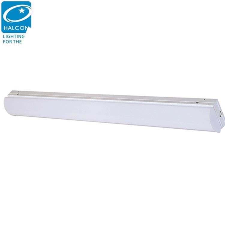 LED Tube Lights Fixture T5 4Ft,18W 1500lm 3000K Warm Light LED Batten Light Ceiling Tube Light 180/°Beam LED Fluorescent Tube for Kitchen Garage Shop Warehouse