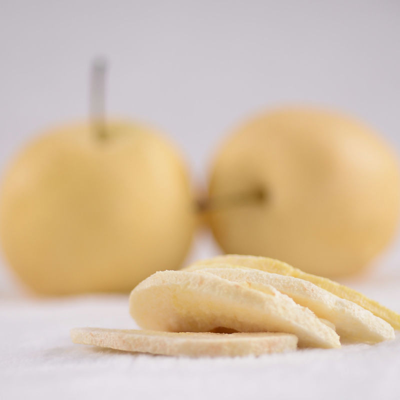 Natural hot sale slices freeze dried pear