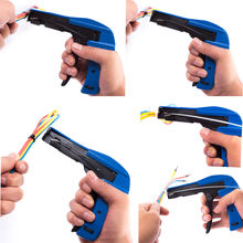 Haicable Cable Tie Fasten Cutter Tools HS-600A  Heavy Promotion Nylon Cable Tie Gun