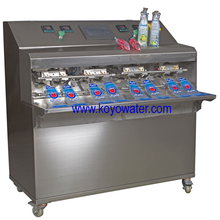 juice making machine/bottle shaped pouch filling machine for packaging alcoholic beverages