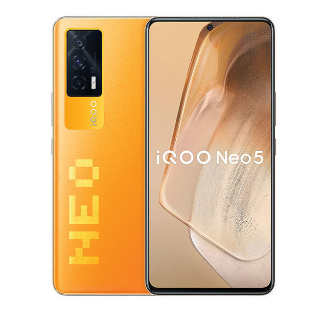 מקורי VIVO IQOO Neo 5 5G SmartPhone SN870 66W סופר מטען 4400mAh 120Hz AMOLED מסך Google לשחק חנות NFC OTG