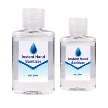 OEM Factory Manufacturers Label Custom Portable Waterless Hand Kids 50ml mini Pocket liquid Hand Sanitizer