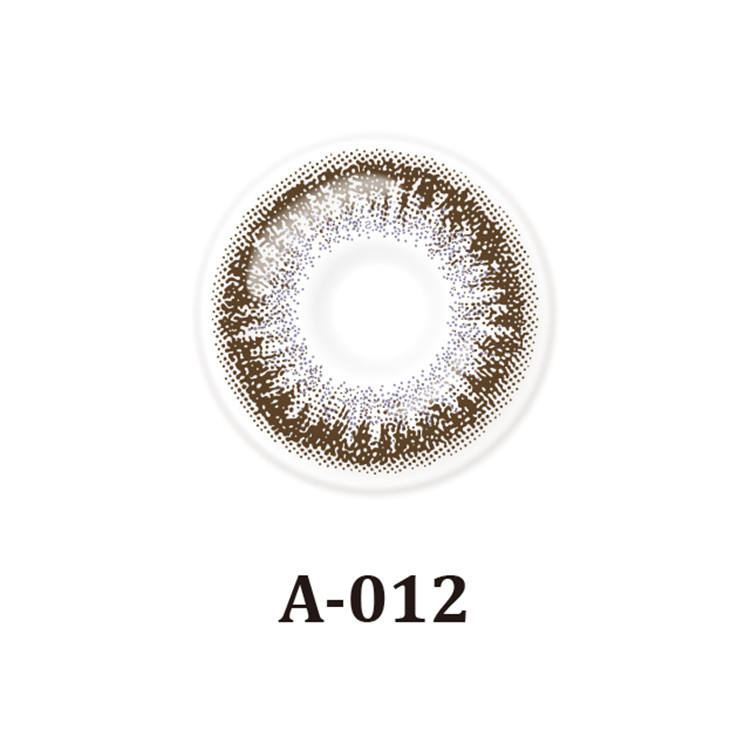 14.2 mm Khaki Color Contact Lens | New Fashion | Galaxy | High Quality | Promotion Cheap | OEM | Korea Design