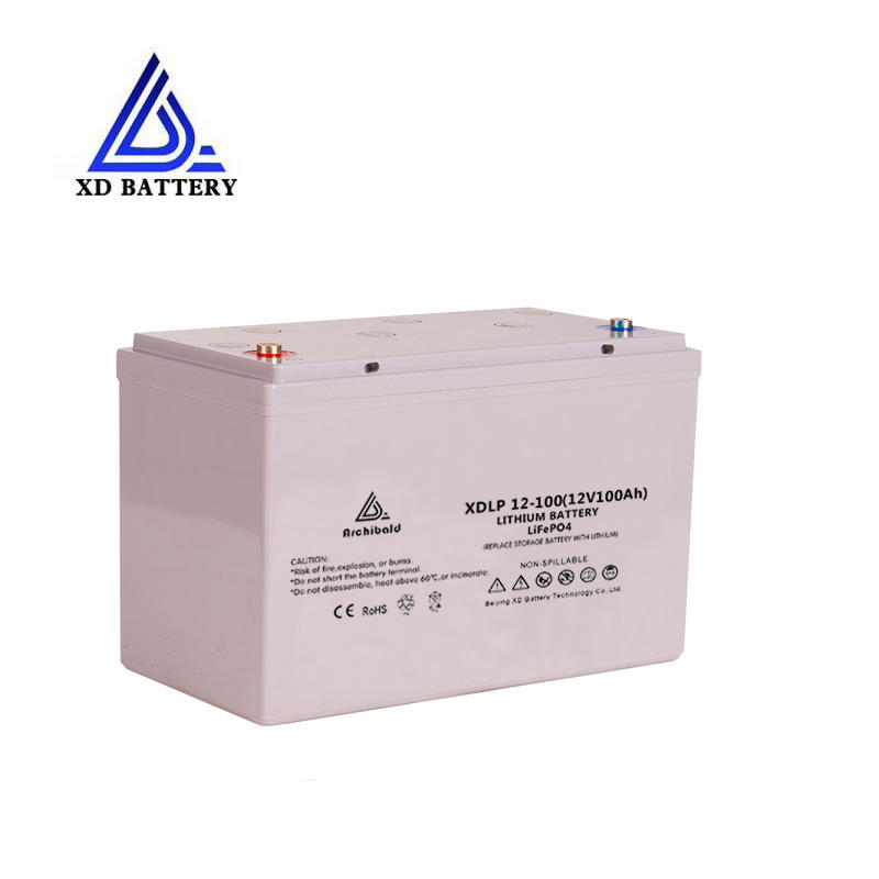 Topband pin li-ion lipo deep cycle polymer 12v 100ah lithium li ion marine battery pack waterproof akku