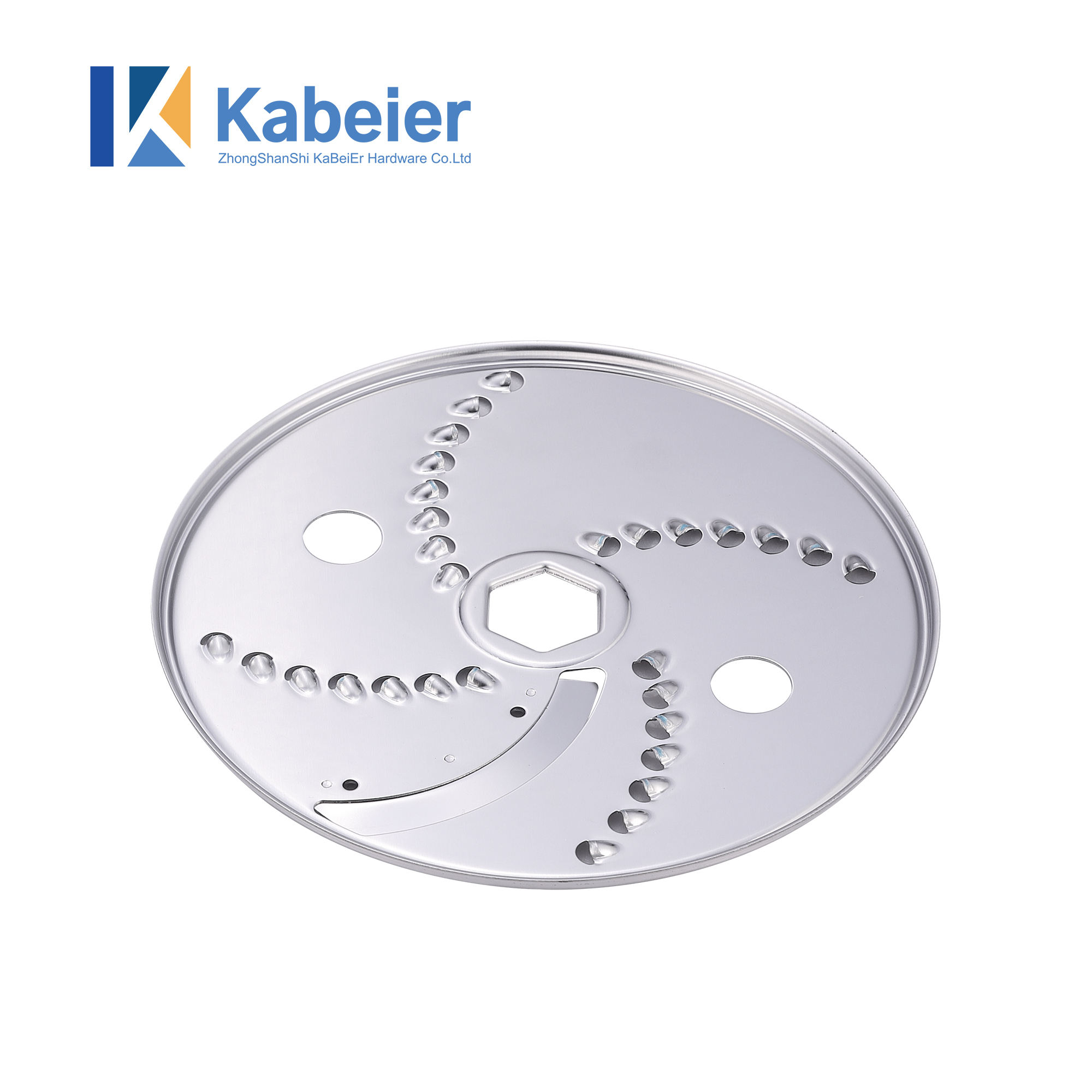 stainless steel shredded slicer blade for food processor