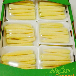 Baby Corn by air freight