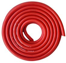 Red 25ft Car Power/Ground Wire True Spec and Soft Touch Cable