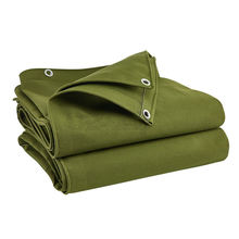 Heavy tarpaulin 10oz fire retardant cotton canvas backyard tarp