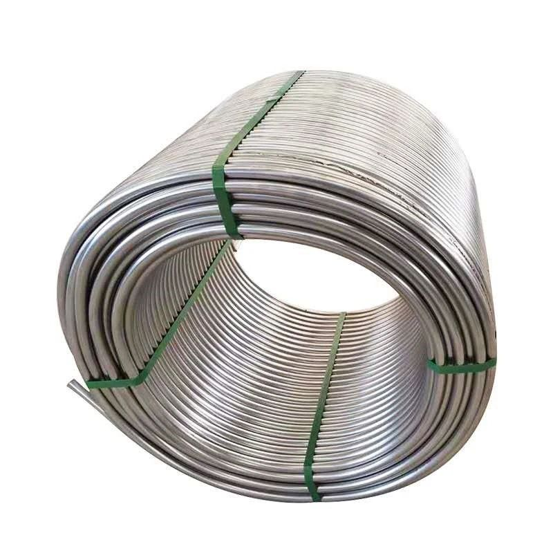 Welded AISI 201, 304 Pipe for Handrail 6 inch welded pipe Stainless steel coil pipe