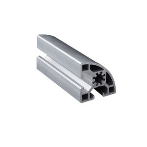 Office Partition Aluminum Fitting Extrusion Profile Snap Frame