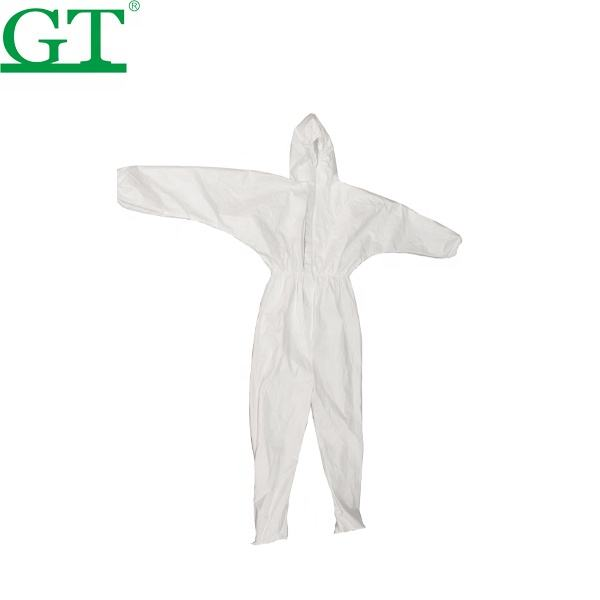 Non-tissé patient ppe jetable d'isolement vêtements combinaisons robe protection exposition costume vêtement de protection vêtements