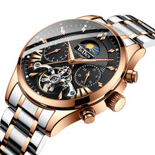 Swiss 2019 men's mechanical watch multifunctional waterproof watch business men's watch