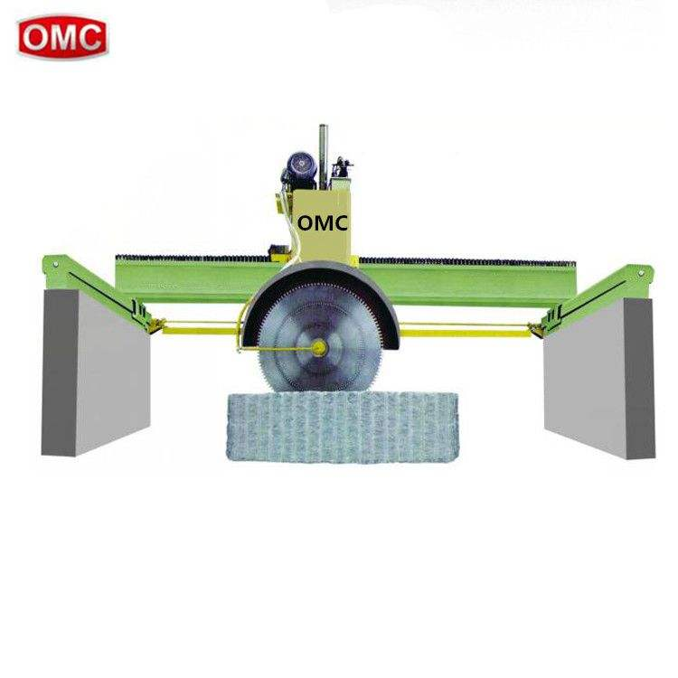 Hot sale multi blade granite block bridge saw cutting machine for sale