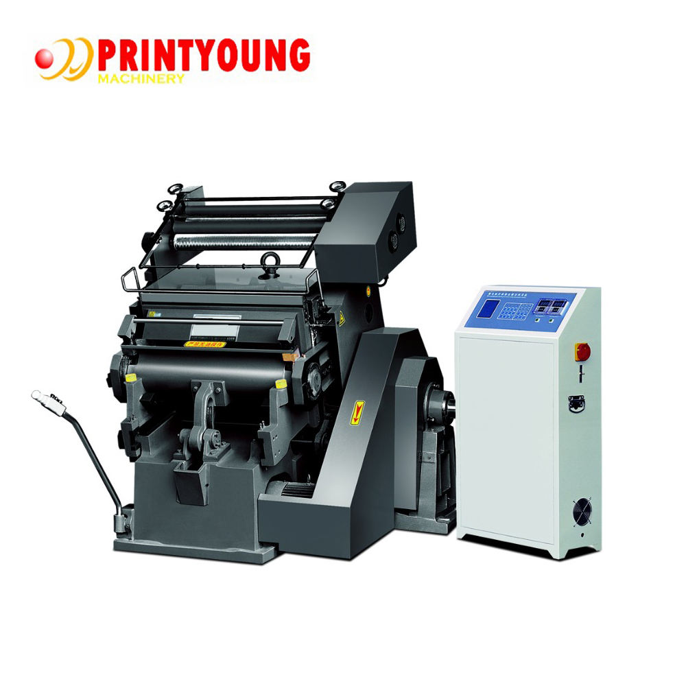 Printing Shops [ Machines ] Stamping Machines TYMK Series Manual Cardboard Die Cutter And Digital Hot Foil Stamping Machines