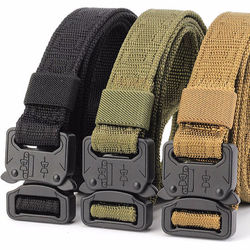 Durable Outdoor Nylon Unisex Tactical Belts Nylon Waist Trai