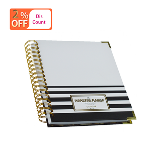 Low Moq Custom High Quality New Design A4 A5 Thick Wire-O Spiral Notebook