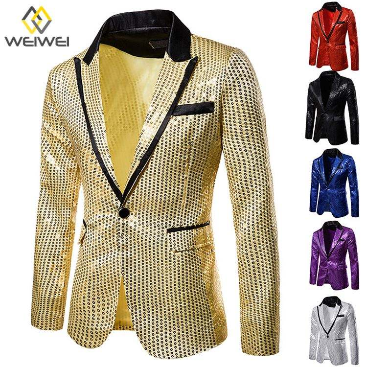 Zhou8 Mens Blazer Jacket Adults Fashion Design Smart Slim Casual Coats Plus Size