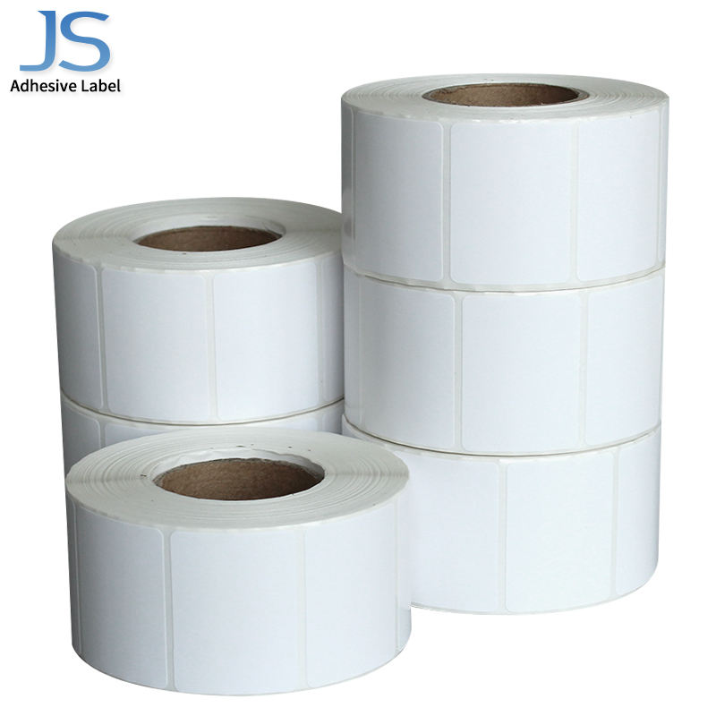 38mm*200mm promotion sticker printed self adhesive paper roll