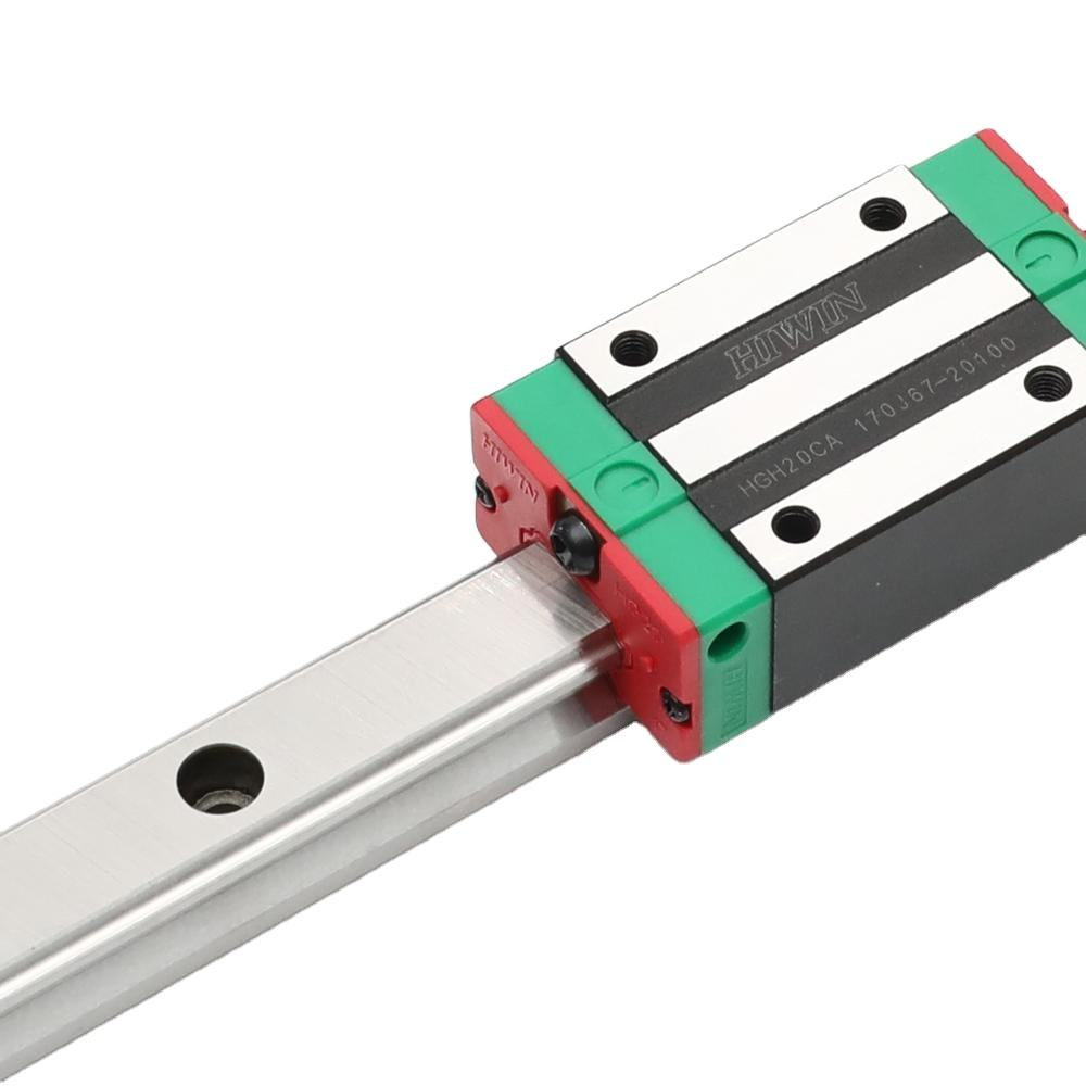 Superior Quality Heavy Duty Linear Guide Rails and Slides Round Steel Kit Bearings Hiwin HG20 CNC Linear guides