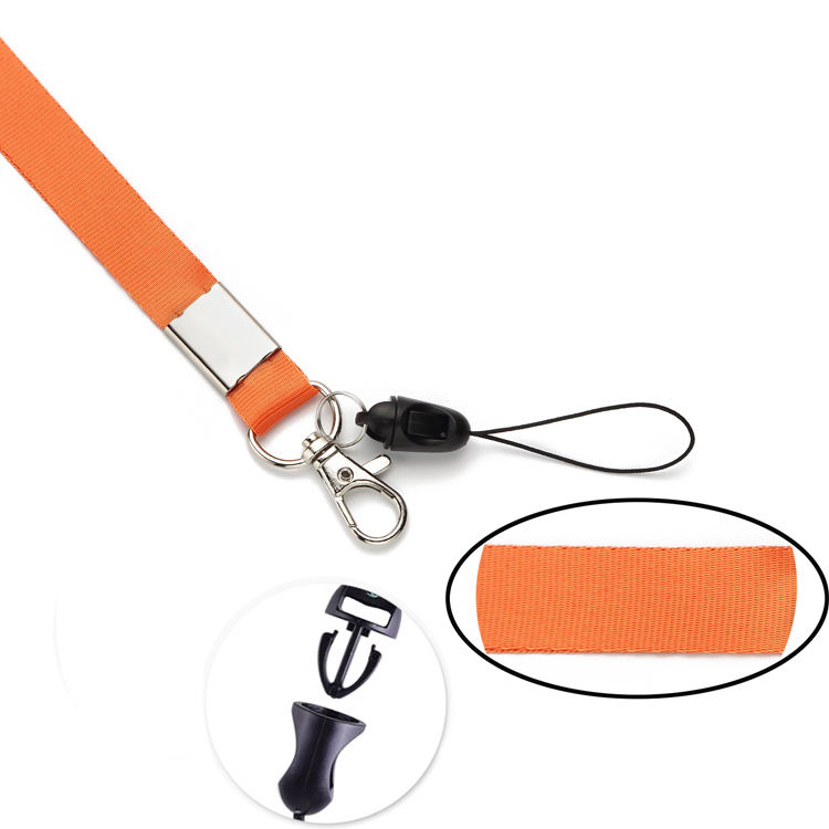New Arrived Customized High Quality Shine Pvc Lanyard