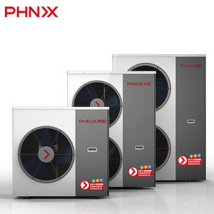 PHNIX R410A Warmtepomp Inverter Waterwater Evi Heat Pumps Air Source