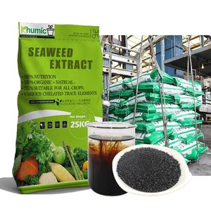 Hydroponic nutrients sea kelp flakes fertilizer liquid seaweed extract organic npk fertilizer