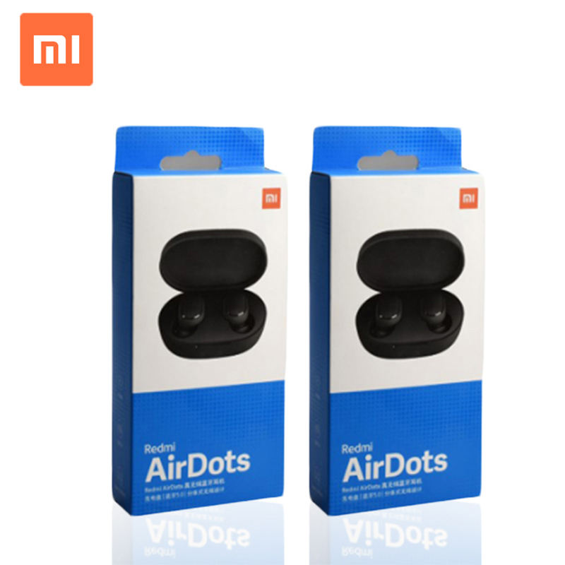 Tws 5.0 untuk Xiaomi Redmi Airdots Earbud Airdots Tws Wireless Sport Bluetooth Earphone Versi Global
