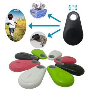 Smart Mini Anti-Perdida Bluetooth impermeable GPS Tracker para mascota perro gato llaves Cartera de niños